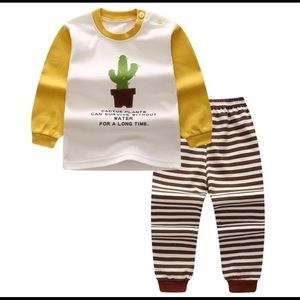 Other - Cactus stripes set for boys and girls